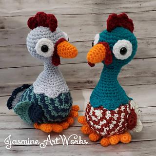Hen & Chicks Amigurumi - Free Crochet Pattern   Craft Passion   320x320