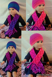 Scarves sized for 18 inch Dolls