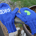 Juvenile Diabetes Research Foundation (JDRF) Mittens pattern