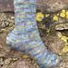 K-9 Says Affirmative Socks (Doctor Who Inspired) pattern