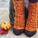 I Love You More Than Pumpkin Spice Socks pattern