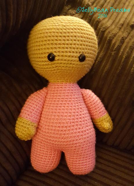 Video Crochet Doll Fingers Tutorial | 640x463