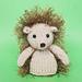 Jelly Bum Hedgehog pattern
