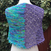 Two Sides of the River Shawl pattern