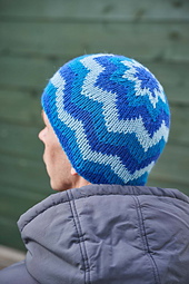 This is the outer side of the hat.