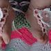 Newborn Baby Mock Sandals pattern