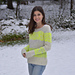 Marled Glow Pullover pattern