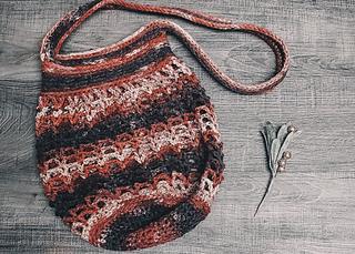 Hazel Market Bag: Small Size with the Single Shoulder Strap
