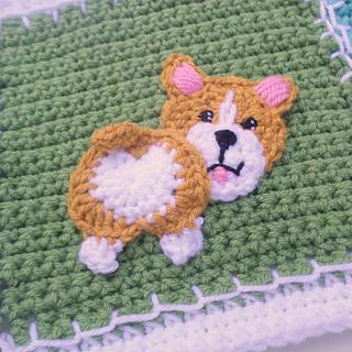 Welsh Corgi Dog Crochet, Miniature Dog, Miniature Corgi, Tiny ... | 320x320