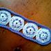 Mery-go-round Cuff pattern