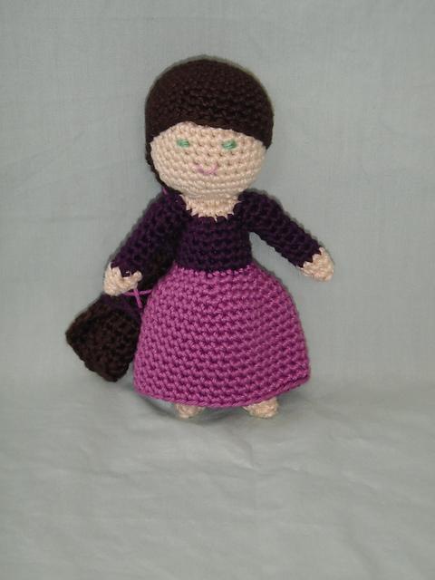 How to crochet doll body crochet - YouTube | 640x480