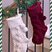 Big Bold Cabled Stocking pattern