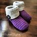 """Knot Knit"" Slipper Boots pattern"