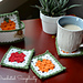 Fall Harvest Coaster & Basket Set pattern