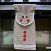 Gingerbread Man Kitchen Towel pattern