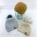 Argyle Beanie & Slouch pattern