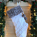 Diamonds & Fur Christmas Stocking pattern