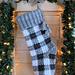 Buffalo Plaid Christmas Stocking pattern