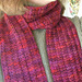 One Row Handspun Scarf pattern