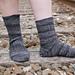 Midnight Train Socks pattern