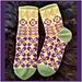 Kind of Retro Socks pattern
