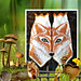 Foxy mittens pattern