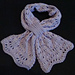 Lacy Bowknot Scarf pattern