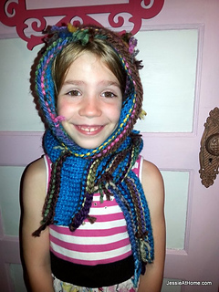 Ravelry: Scrappy Scoodie Knit Pattern pattern by Jessie Rayot