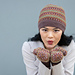 Autumn Blossom Hat and Mittens pattern