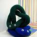 Trefoil knots pattern