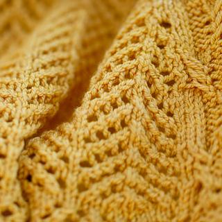Close up of Arrowhead lace