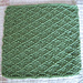 Kitchen Dishcloth ~ Lattice pattern