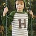 Henry's Letter Sweater pattern