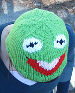 Freehand Kermit. Gift for a little girl. I just kind of made him ... | 320x258