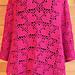 Heart Poncho pattern