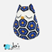 Maggie the African Flower Owl Pillow pattern