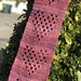 With Love, Granny Heart Scarf pattern