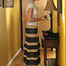 Lupe Tiered Maxi Skirt pattern