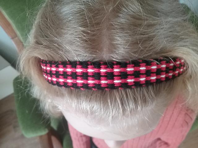 inkle woven hairband