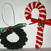 Crochet Candy Cane Ornament pattern