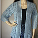 Wishes beaded lace cardigan pattern