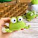 Little frog toy pattern
