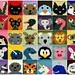 Animal Squares Blanket pattern