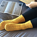 Acceptance Letter Socks pattern