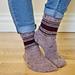 Retro Throwback Socks pattern
