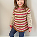Neapolitan Ice Cream Sweater pattern