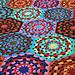 Brilliantine Afghan pattern