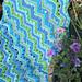Sheila's Shells Ripple Blanket pattern