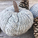 Cable Knit Pumpkin pattern
