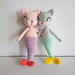 Mermaid cat doll pattern